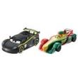 Veículos Hot Wheels - Disney Cars 2 - Pack com 2 Veículos - Lewis Hamilton e Rip Clutchgoneski - Mattel