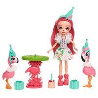 Boneca Articulada - 15 Cm - Enchantimals - Contadoras de Histórias - Let`s Flamingle - Mattel