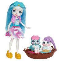 Boneca Articulada - 15 Cm - Enchantimals - Contadoras de Histórias - Sleepover Night Owls - Mattel