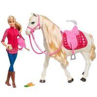 Boneca Barbie e Cavalo - Cavalo dos Sonhos - Mattel
