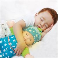 Boneca Bebê com Mecanismo - Toca Música e Acende o Rosto - Baby Luz - Baby Brink