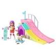 Boneca e Acessórios - Barbie - Chelsea e Pista de Skate - Mattel