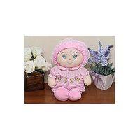 Boneca em Plush cor Rosa - Bebê Cuti - cuti - Antialérgico e Atóxico - 29 cm
