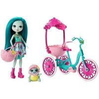 Boneca Fashion e Veículo - Enchantimals - Talee Turtle - Mattel