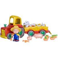 Brinquedo Caillou Trator com Pets IDCAI0020 - Intek