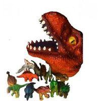 Cabeça Flex Com Miniaturas Dinossauro T - Rex Dtc 3380