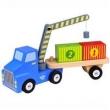 Caminhão Guincho Containers - Madeira - Tooky Toy