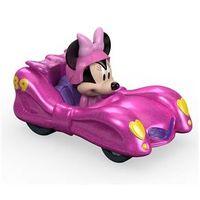 Carrinho de Roda Livre - Disney - Mickey Aventura Sobre Rodas - Minnie Pink Thunder - Fisher - Price