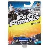 Carrinho Die Cast - Hot Wheels - Velozes e Furiosos - Ford GT - 40 - Mattel