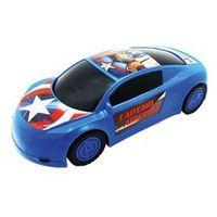 Carrinho Esportivo de Roda Livre - Avengers - Capitão América - Marvel - Toyng