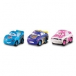 Carros Micro Drifters Pack 3 Veículos - Mattel W7160