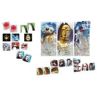 Kit de Atividades - Star Wars - Episódio VIII - Quebra - Cabeça 200 Peças + Dominó 28 Peças + Jogo da Memória 20 Pares - Jak