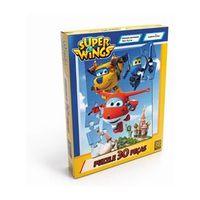 Kit de Jogos - Super Wings - Quebra - Cabeças - 60 e 30 Peças - Grow