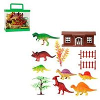 Kit Dinossauros Na Fazenda 12pcs