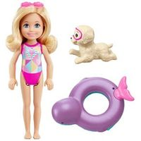 Mini Boneca 10 Cm - Barbie Golfinho Mágico - Chelsea Aventura no Mar - Mattel
