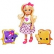 Mini Boneca Barbie - Dreamtopia - Reino dos Sonhos - Chelsea e Torradinhas - Mattel