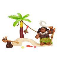 Playset Mini Barco - Moana e Amigos - Maui - Disney - Hasbro