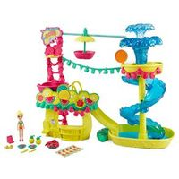 Playset Polly Pocket - Parque Aquático dos Abacaxis - Mattel