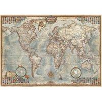 Puzzle 4000 peças Mapa Mundial Histórico