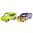 Veículos Hot Wheels - Disney Cars 2 - Pack com 2 Veículos - Marilyn Calcomanías e Nick Calcomanías - Mattel