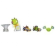Boneco Kart Porco Contra Pássaro Laranja Hasbro Angry Birds Go ! A6181 Telepods Multi - Pack - 5 Peças