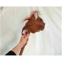 Cavalo de Pau de Pelúcia com Som 84cm ? Fizzy