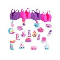 Conjunto 20 Mini Figuras Shopkins - Coleção Glamour - DTC