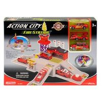 Estação de Bombeiro Completa - Real Toy