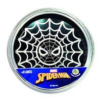 Hand Spinner Anti Stress Certificado - Fidget Hero Spinner - Preto - Disney - Marvel - Spider - Man - DTC