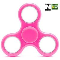 Hand Spinner Anti Stress Certificado - Fidget Spinner Giraluz - Rosa - DTC