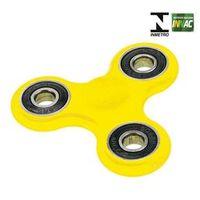 Hand Spinner Anti Stress Certificado - Fidget Spinner Racer - Amarelo - Candide