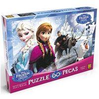 Puzzle - Quebra Cabeça 60 Peças Frozen - Grow