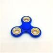 Spinner Cromado Rolamento Anti Stress Azul