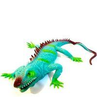 Animal World Estica - Estica - Lagarto Verde - Buba Toys