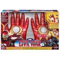 Luvas com Efeitos Sonoros - Guerra Civil - Homem de Ferro