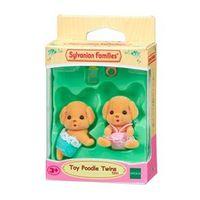 Sylvanian Families - Família Poodle Toy - Irmãos Gêmeos - Epoch