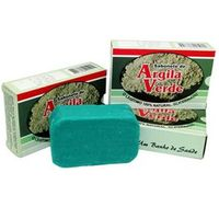 Sabonete Glicerinado Argila Verde ( Pacote C / 3 Unidades )