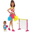 Conjunto de Bonecas - Barbie - Barbie Profissões - Professora de Tênis - Mattel