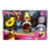 Conjunto de Bonecas - Masha e o Urso - Masha com Roupinhas Trocáveis - Conjunto 3 - Sunny