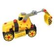 Conjunto de Montagem - Meu Pequeno Engenheiro - Garagem S / A - Veículo de Construção - Retroescavadeira - Candide