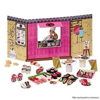 Food Truck Barbie Comidinhas Japonesas 7968 - 0 - Fun