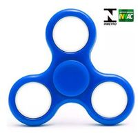 Hand Spinner Anti Stress Certificado - Fidget Light Spinner - Azul - Candide