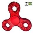 Hand Spinner Anti Stress Certificado - Fidget Spinner Special Metalizado - Vermelho - Candide