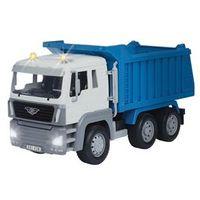 Veículo com Luzes e Sons - Driven - Caminhão Caçamba - Azul - Candide