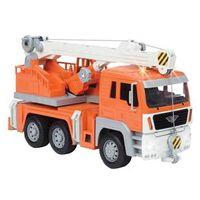 Veículo com Luzes e Sons - Driven - Caminhão de Resgate - Laranja - Candide