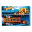 Hot Wheels - Caminhão Transportador - Road Roller Bdw57