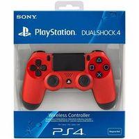 Sony Dualshock 4 Sem Fio Blister - Vermelho PS4