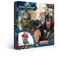 Quebra - Cabeça Grandão 120 Peças - Thor Ragnarok