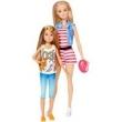 Barbie Família Dupla de Irmãs Loira - Mattel