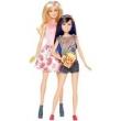 Barbie Família Dupla de Irmãs Morena - Mattel